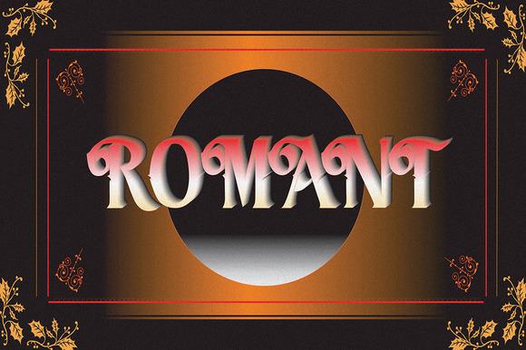 Romant Typeface