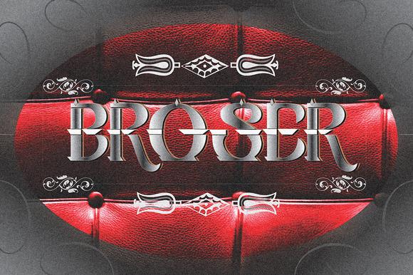 Broser Typeface