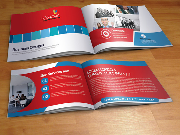 Business Corporate Bi Fold Brochure