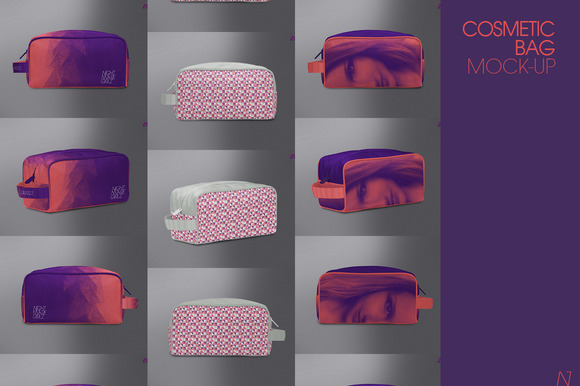 Cosmetic Bag Mock-up