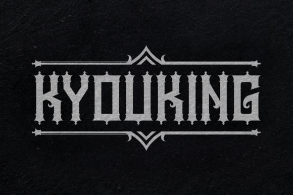 Kyouking Font