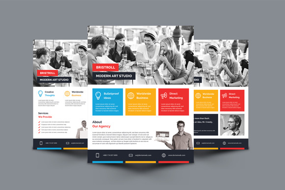 Modern Corporate Agency Flyer