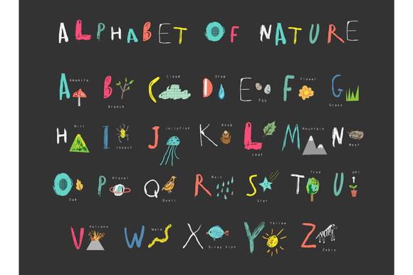 Alphabet Of Nature