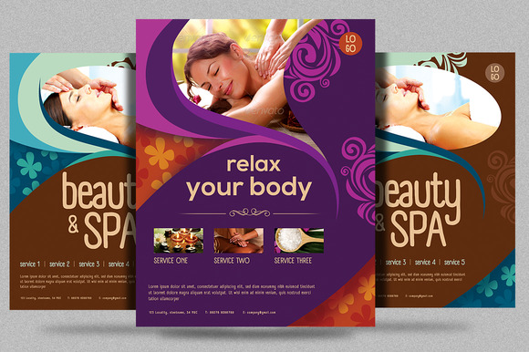 Beauty Spa Promotion Flyer V2