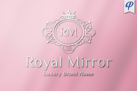 Royal Mirror Luxury Logo Template