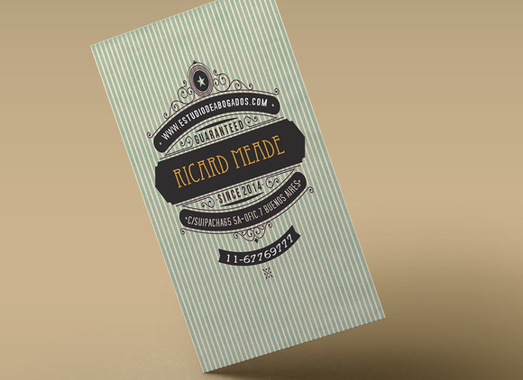 Retro Business Card III