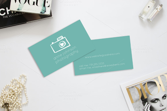 Camera Photography Business Cards