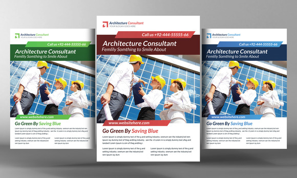 Architecture Flyer With Flyer
