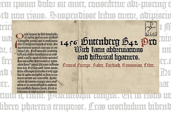 1456 GLC Gutenberg B42 PRO
