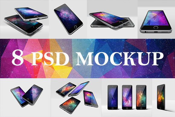 IPhone 6 Photorealistic Mockup