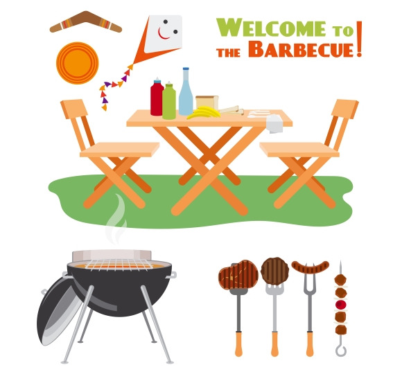 Barbecue BBQ Elements