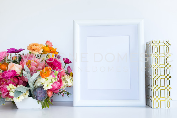 Styled Stock Photo Flowers Frame