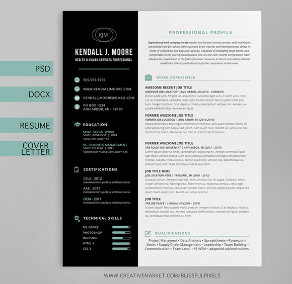 Resume Cover Letter Template