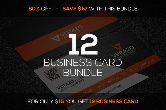 12 Business Card Mini Bundle