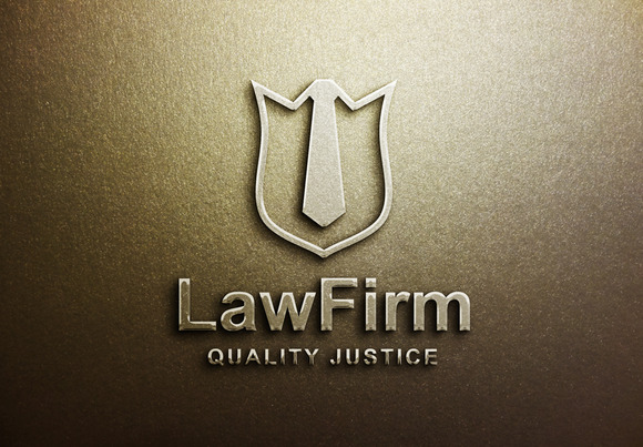 Law Logo Template