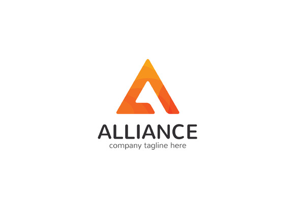 Alliance Letter A Logo