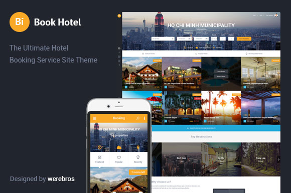 The Hotel Booking Service Theme