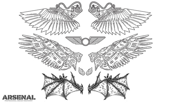 Wing Vector Pack 3