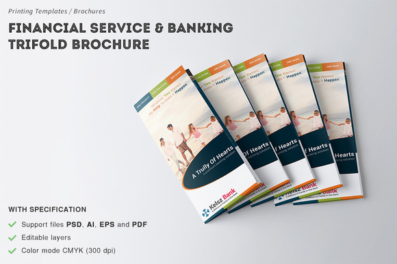 Financial Service Banking Brochure