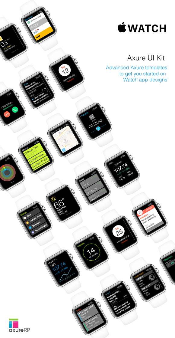 Apple Watch Axure Kit