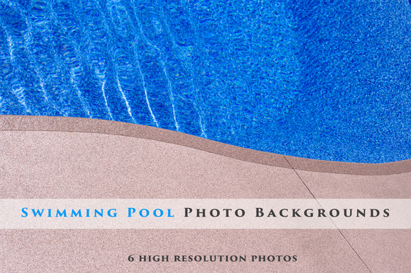 Swimming Pool Background Bundle