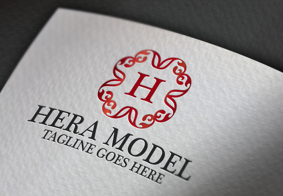 Hera Model H Letter Logo