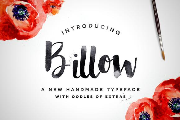 Billow Font Extras