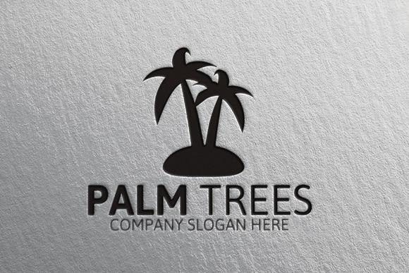 Palm Trees Logo