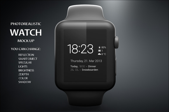 Apple IWatch Mock Up
