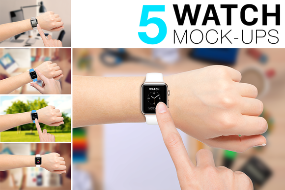Apple Watch Mockups