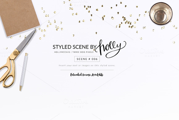 FLAT Styled Scene #006 By Holly