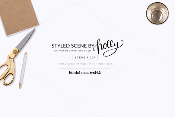 FLAT Styled Scene #007 By Holly