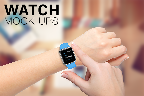 Apple Watch Mockup Sport Edition