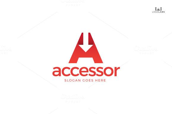 Accessor Letter A Logo