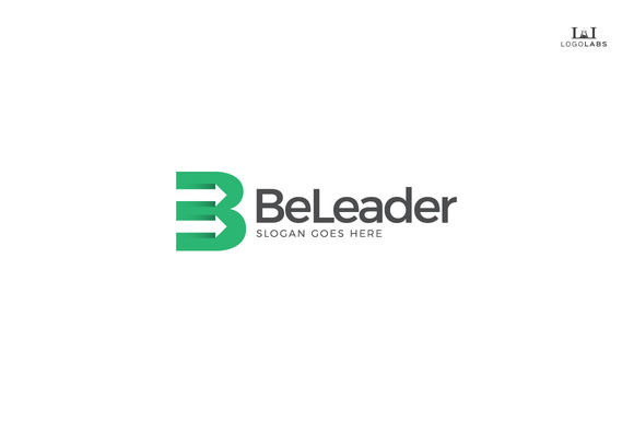 Be Leader Letter B Logo