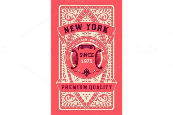 Retro Card Design