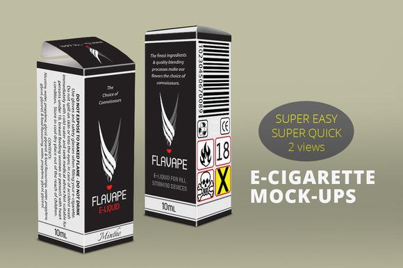 E-Cigarette Medicine Aromatics Box
