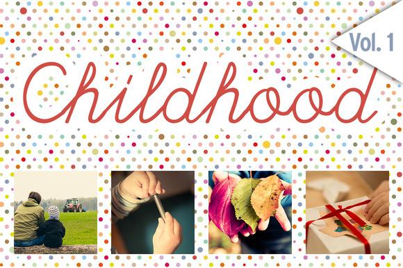 CHILDHOOD Set 1 48x HiRes Images