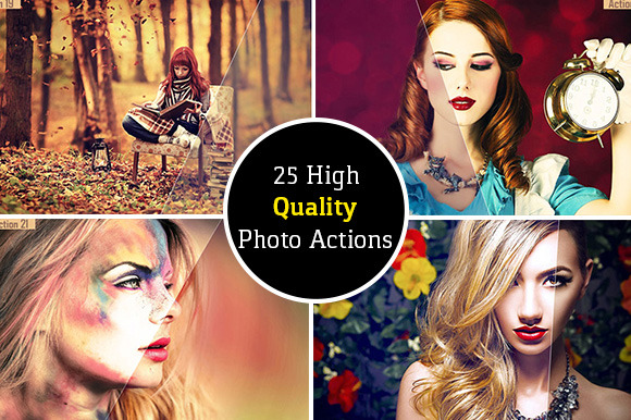 25 High Quality Photo Actions