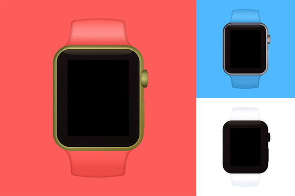 Minimus Apple Watch Mockups