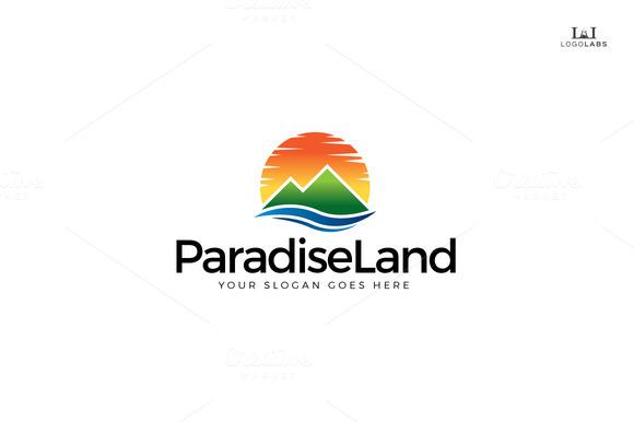 Paradise Land Logo