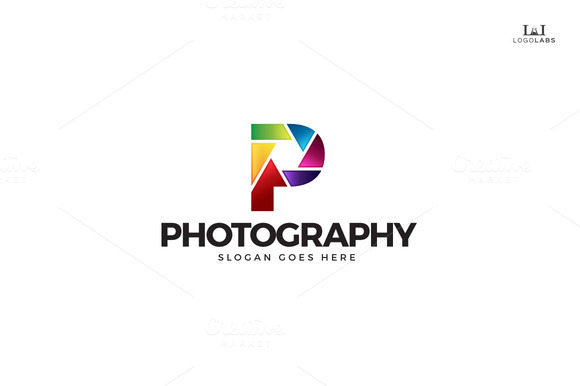 Photography Letter P Logo