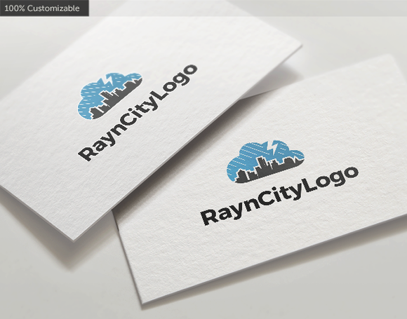 Rain City Logo Template