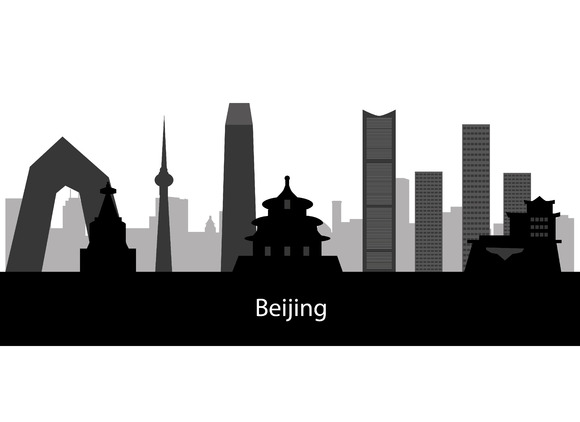 Beijing City Skyline Collection