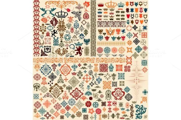 Pack- Over 300 Design Elements