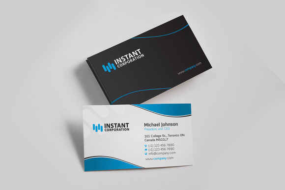 Corporate Business Card 9