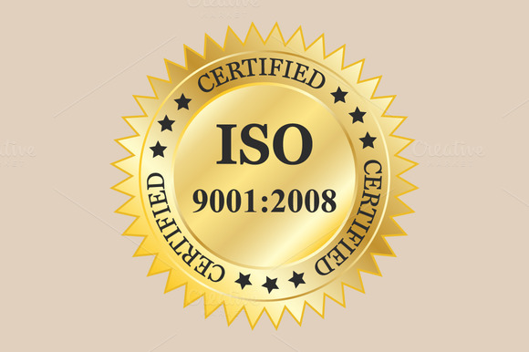 ISO 9001 2008 Badges