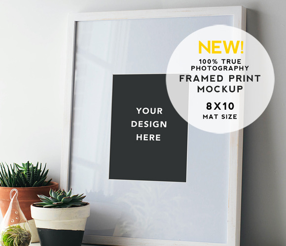 Artist Series Framed Print Mockup #6