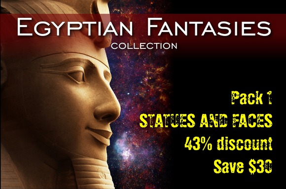 Egyptian Fantasies Pack 1
