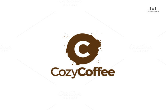 Cozy Coffee Letter C Logo